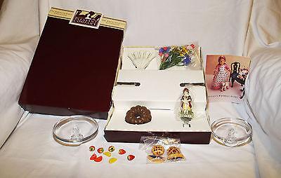 American Girl Felicity Doll Party Treats With Original Box Pleasant Company
