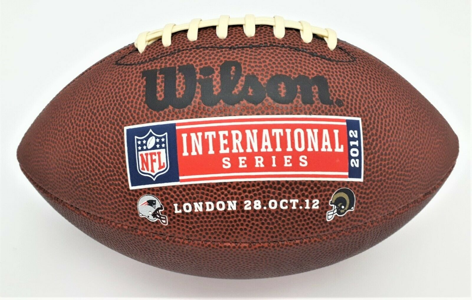 Wilson extreme American Football NFL International Series 2012 London 28 OCT 12