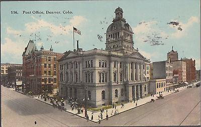 Post Office Denver Colorado Stamped      B2