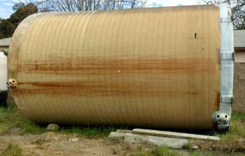 10000 gallon fiberglass tank used tank 10,000 gallon