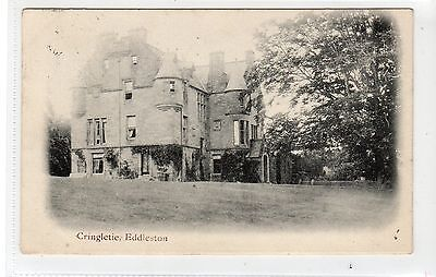 CRINGLETIE, EDDLESTON: Peeblesshire postcard (C15337)