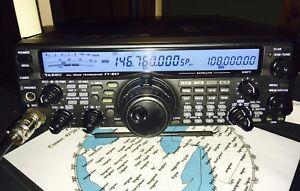 Yaesu FT847 Ham Radio
