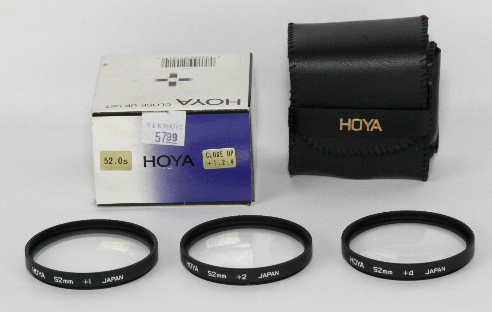 Hoya 52mm CLOSE-UP Lens Set 1 2 4 - $9.95