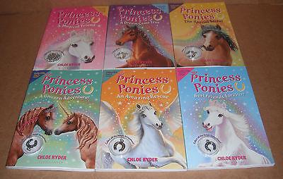 Princess Ponies Vol. 1,2,3,4,5,6 by Chloe Ryder NEW