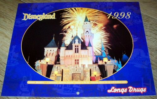Disneyland Calendar - 1998 - Longs Drugs Promo - New