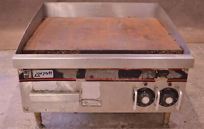 24 Ap Wyott Eg-24-208-1 Flat Top Griddle Grill Counter 208v 3-phase Electric