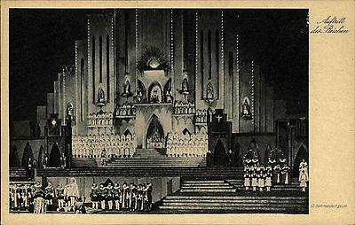 Bad Godesberg AK ~1920/30 Calderons großes Welttheater Theater Auftritt Bühne