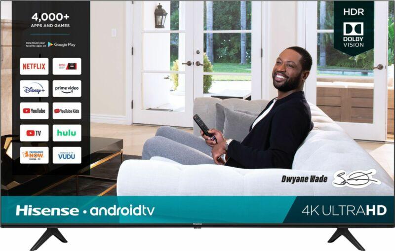 """Hisense - 50"""" Class H65 Series LED 4K UHD Smart Android TV"""