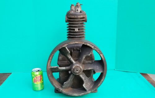 """Antique Curtis B318 Air Compressor for hit miss engine 12"""" fly wheel"""