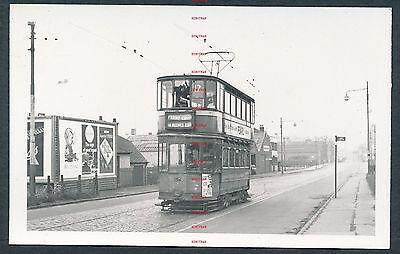 RK3997h Glasgow tram 194 Farme Cross Dalmarnock Road