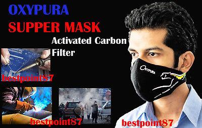 Oxypura Super Face Mask Welding-soldering-vihicles Anti Smoke Respirator Puma