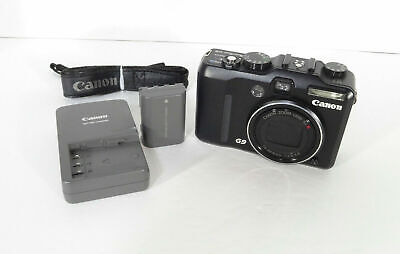 Canon PowerShot G9 12.1MP Digital Camera w/Battery & Charger - Works Great!