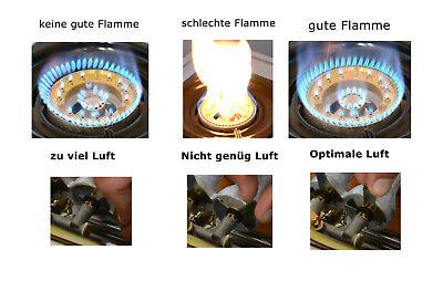 NGB-200 Edelstahl Gaskocher 2 flammig 9 KW Campingkocher WOK Hockerkocher