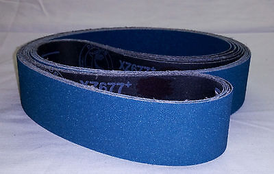 "2""x72"" Sanding Belts 60 Grit Premium Zirconia (5pcs)"