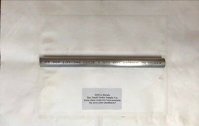 1 Aluminum 6061 Round Rod 12 Long Solid Bar 1.00 Od New Lathe Stock