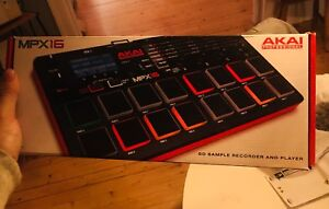 Akai mpx16 sample player and recorder