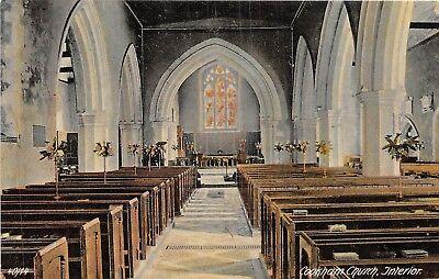 POSTCARD   BERKSHIRE  COOKHAM     Church   ( Interior  )