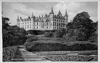 uk20131 dunrobin castle and gardens golspie scotland real photo uk