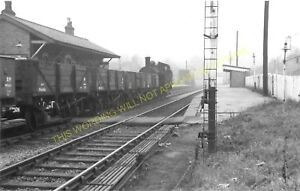 Silverdale Railway Station Photo. Stoke - Keele. North Staffordshire Railway (2)