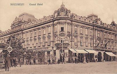 Bucaresti Bukarest Grand Hotel Ansichtskarte Romania Rumänien um 1920-30 RAR