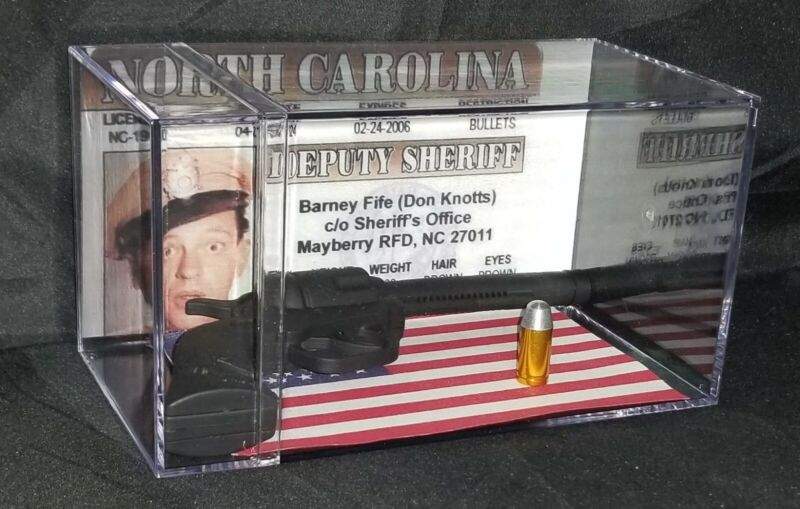 """The Andy Griffith Show """"BARNEY FIFE"""" Inspired by collectible display Brand New.."""