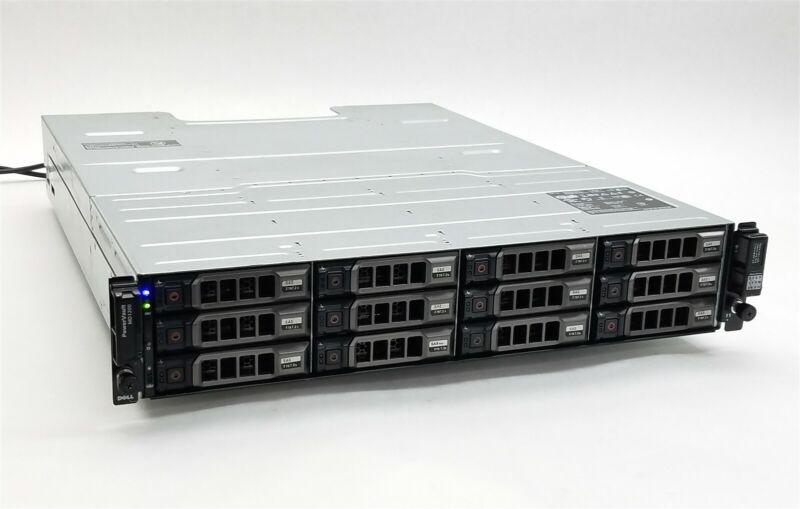 Dell PowerVault MD1200 12-Bay Storage Array w/12*3TB SAS + 2*MD12 SAS Controller