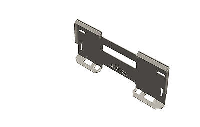 Skid Steer Quick Attach Mount Plate 516 - Qt312a - Made In The Usa