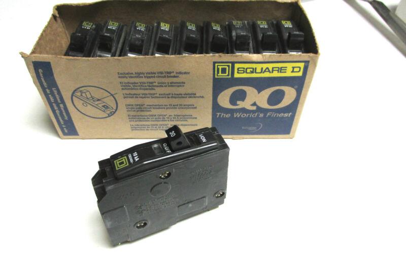 * NEW ...  Square D 1P,  30A Circuit Breakers Cat# QO130 (Qty of 10) ... L-86