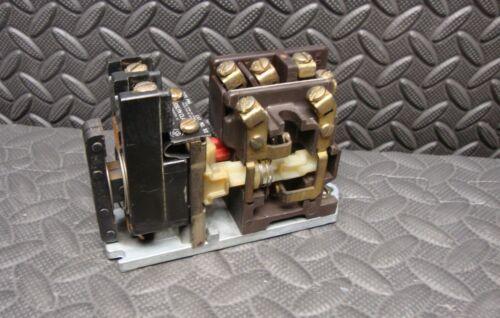Joslyn Clark 5S Relay Type PMS Contactor Coil TB-139-1 110-120 Volt 4 NO & 2 NC