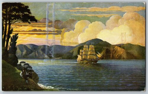 """""""The Portsmouth"""" Mural 1939 SF World"""