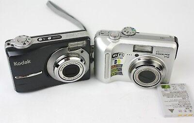 Nikon COOLPIX P2 5.1 MPWiFi - Silver & Kodak EasyShare CD1013 Cameras Kodak Nikon Coolpix