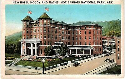Postcard Ar Hot Springs National Park New Hotel Moody And Baths