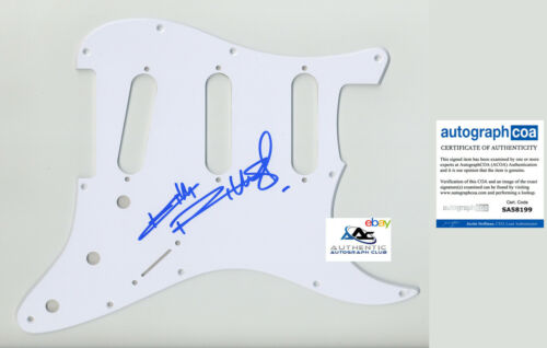 KEITH RICHARDS AUTOGRAPH SIGNED PICKGUARD SCRATCHPLATE ROLLING STONES ACOA