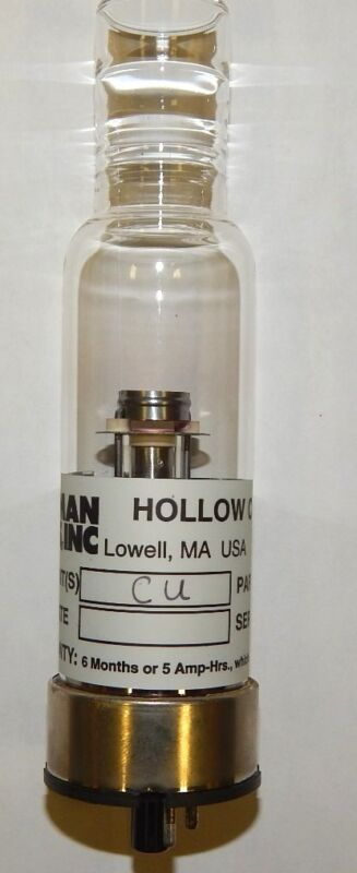 Cu (Copper)  Hollow Cathode Lamp - Leeman Lab Inc.