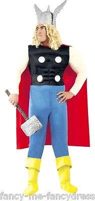 Herren Superheld Tv Film Comic-Helden Stag Kostüm Kleid Outfit (Film Superheld Kostüme)
