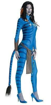 Costume Avatar Suit Neytiri Great Hero Jumpsuit Halloween Carnival 39288 - Blue Avatar Costume