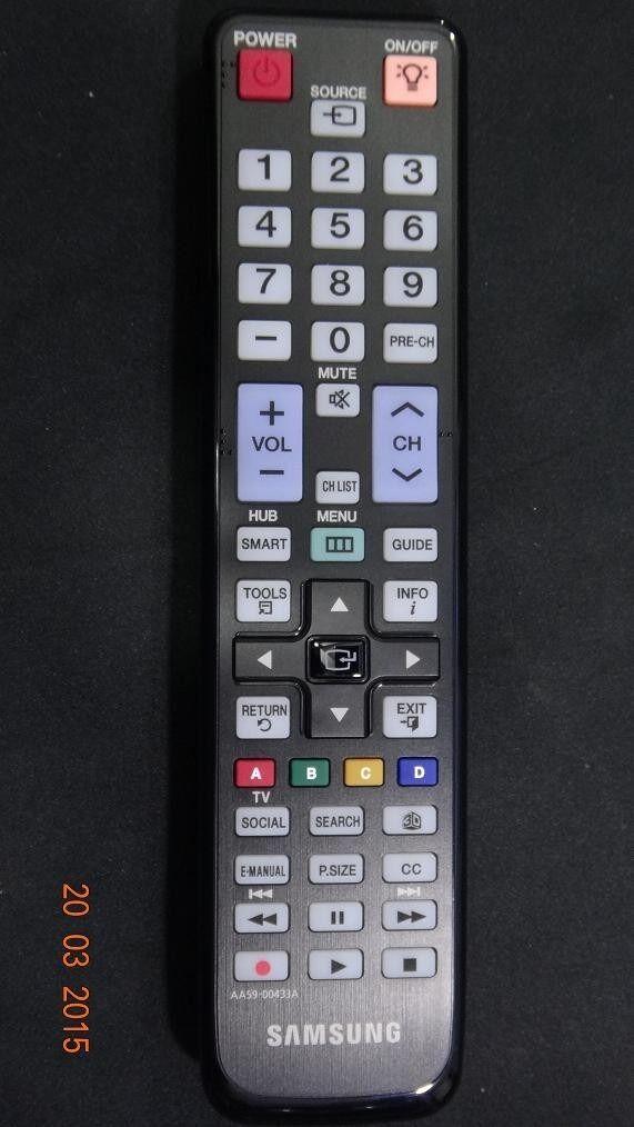 Samsung Tv Remote Aa59-00433a Aa59-00515a Un40d6300 Un46d...