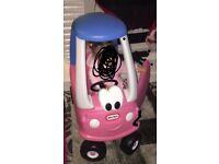 Little tikes princess coupe car