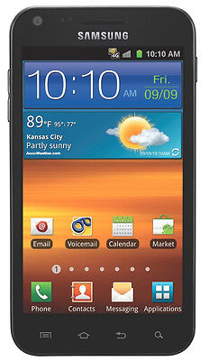 Samsung Galaxy S II Epic 4G Touch SPH-D710 -16GB- Vortex Black (Sprint) (K20927) on Rummage