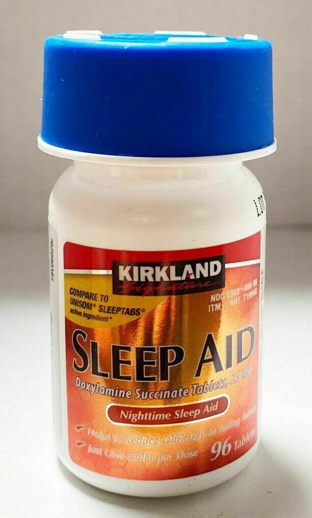 Kirkland Signature Sleep Aid - 1 Bottles  with Expiration Ye
