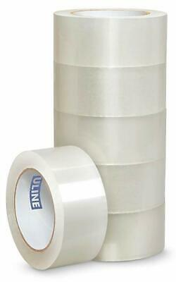 6 Rolls Uline S-117 Packing Shipping Tape 2 X 55 Yds 1.8mil Free Shipping