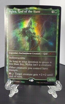 Nylea, God of the Hunt 080 Foil Mythic - MTG Magic - Theros Secret Lair SLD - NM