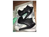 Chloe Jade Green TopShop boots size 4 brand new