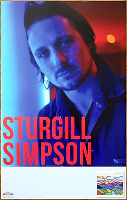 STURGILL SIMPSON High Top Mountain Ltd Ed RARE Poster! A Sailors Guide To Earth