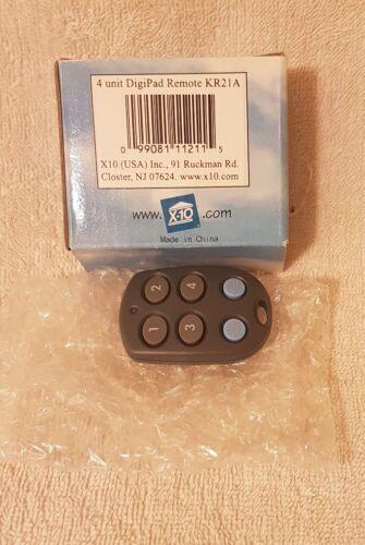 4 UNIT MICO KEYFOB REMOTE KR21A - X10 ADD ON MODULE - IN BOX -UNUSED