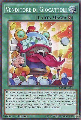 3x Vendeur de Jouets - Toy Nom du vendeur YU-GI-OH! NECH-IT060 Ita COMMUNE 1 Ed