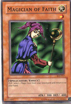 Yu-Gi-Oh-Karte - Magician of faith