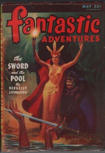Fantastic Adventures 1946 May.