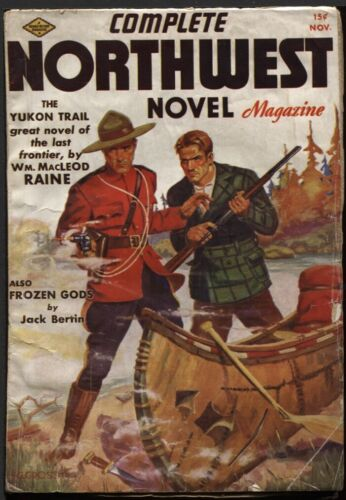 Complete Northwest Novel Magazine. 1937 November.   Pulp