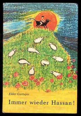 Immer wieder Hassan! – Eldar Gurtujew  DDR Jugendbuch Bücherfink